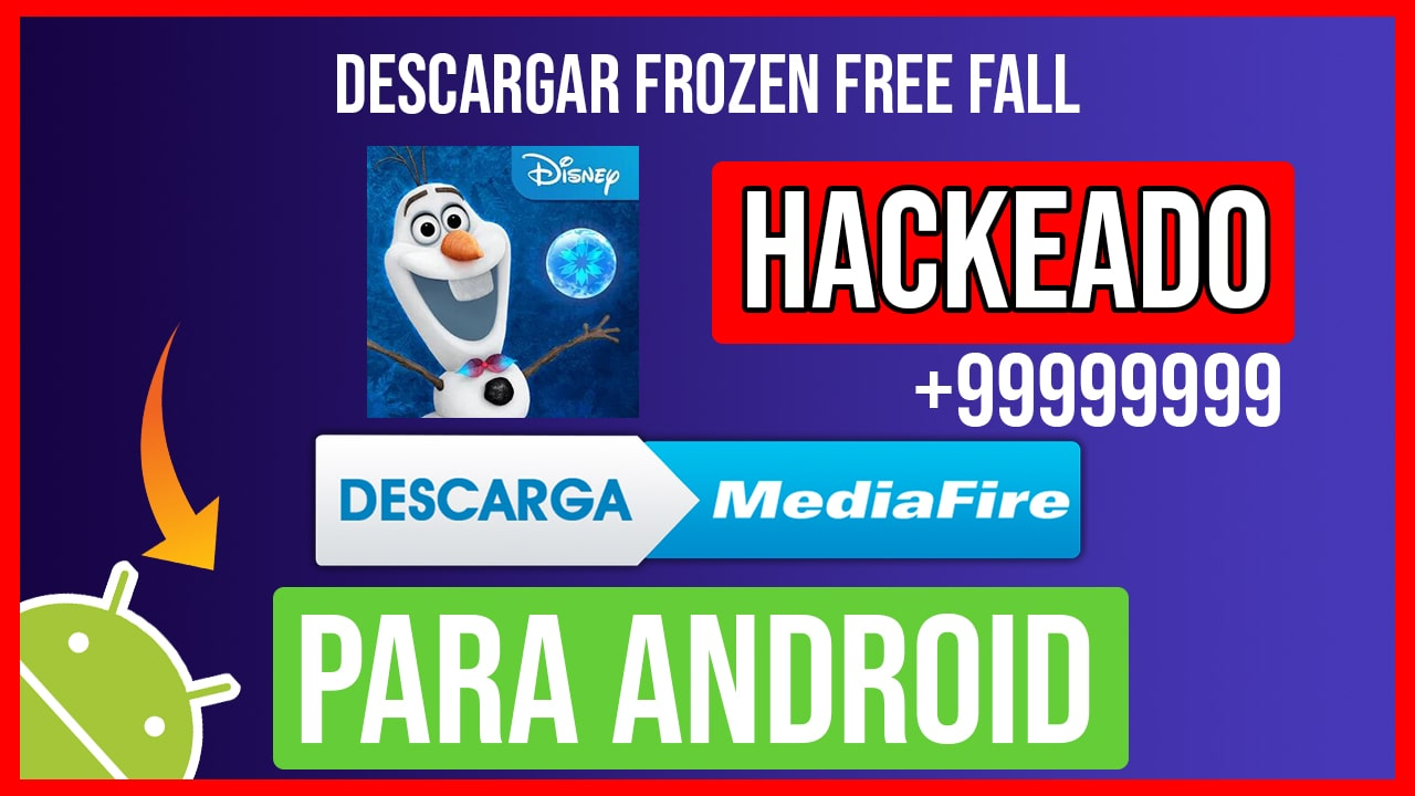 Descargar Frozen Free Fall Hackeado para Android