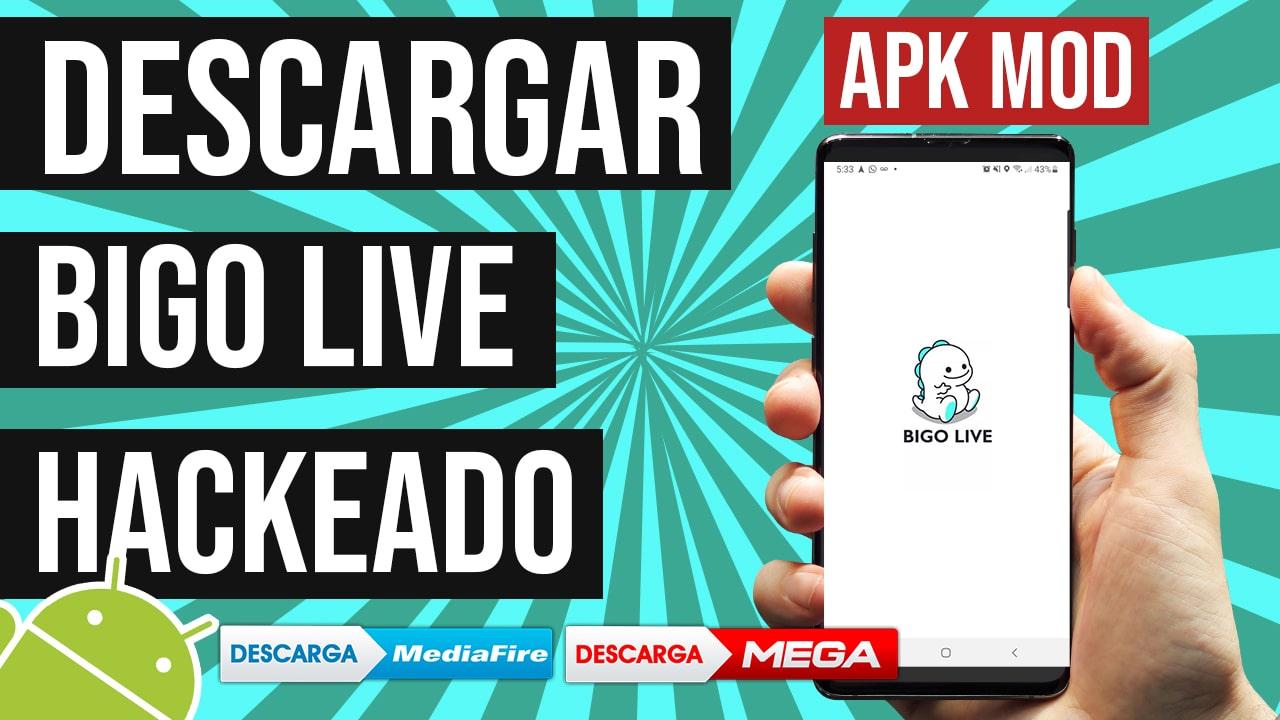 Descargar Bigo Live Hackeado para Android Diamantes, Monedas y Beans ILIMITADOS APK MOD